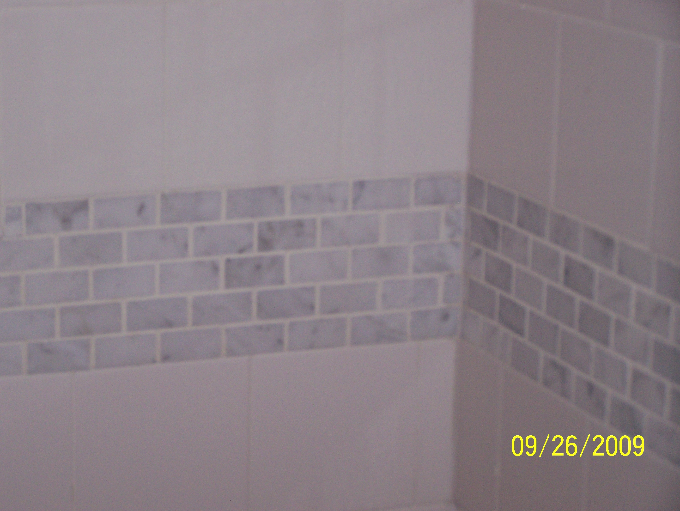 Metro tile trims  TilersForumscouk  Professional wall